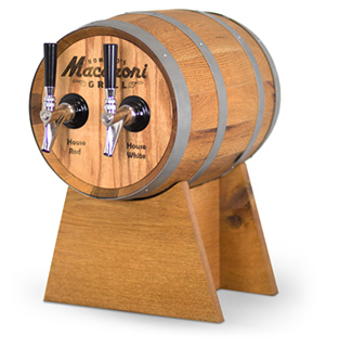 wine on tap TORR barrel dispensing