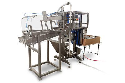 TORR semi automatic wine filling options with bag saparator