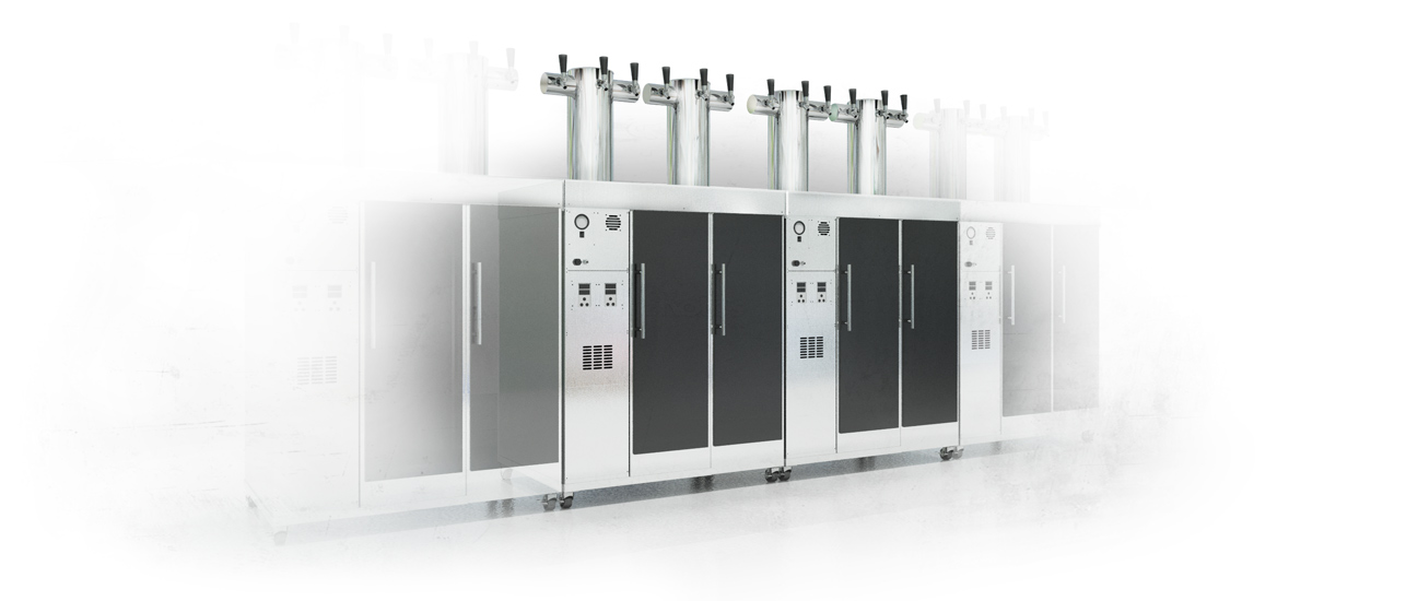 SlimChill Glycol Cooled Dispensing systems